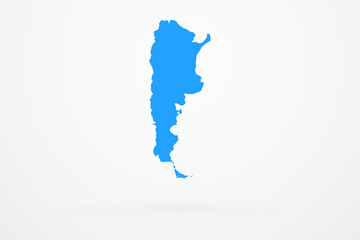 Argentina Country Vector Map