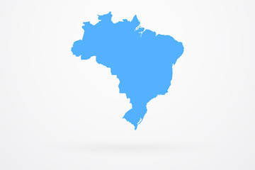 Brazil Country Vector Map