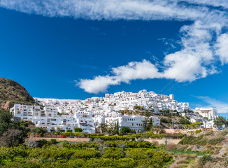 Mojacar Medieval Village, Almeria Province, Andalusia, Spain