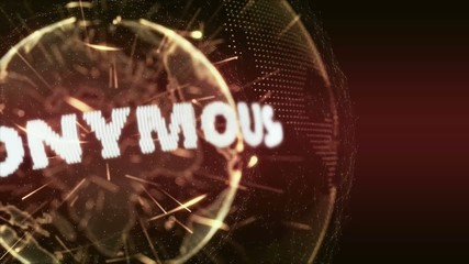 World News Anonymous Intro Teaser orange red