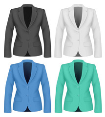 Formal work wear. Ladies suit jacket .