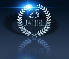 25 Jahre -Lorbeer - Flare
