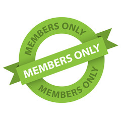MEMBERS ONLY Marketing Stamp (label registration register)