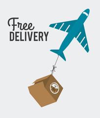 Delivery design, vector illustration.