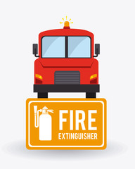 Emergency design, vector illustration.