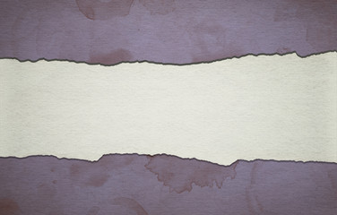 Vintage purple paper background with stripe and dirty stains