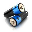 Leinwanddruck Bild - Battery 3d