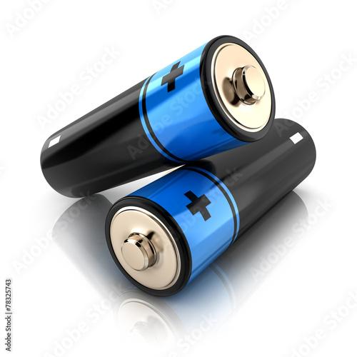 Leinwanddruck Bild Battery 3d