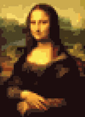 Mona Lisa squares