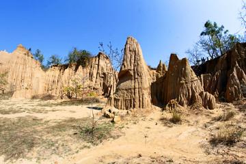 Sao Din Na Noi in Sri Nan national park, Nan Thailand