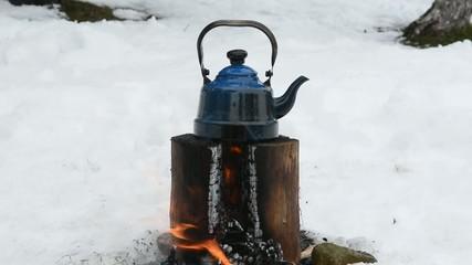 doğada çay yapmak