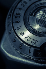 vintage configuration mechanism for the old camera