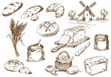 Bread set - 78338136