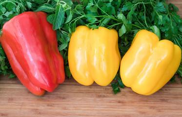 Vegetable sweet pepper