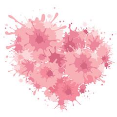 Background on Valentine's Day -- heart