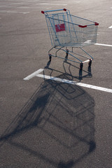 Shopping supermarket trolley