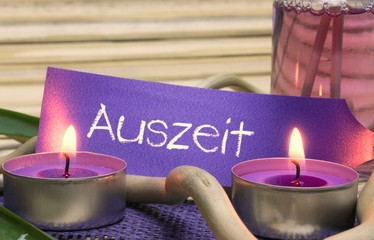 Auszeit / Aromatherapie