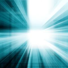 Abstract ray light