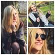 Collage einer jungen Frau