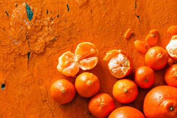 fresh mandarines