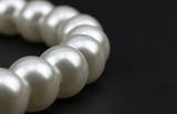 Perlenkette Nahaufnahme