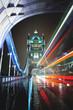 Night traffic in London - 78341543