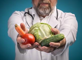Healthy food concept.
