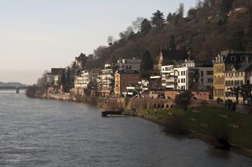 Neckar River in Heidelberg
