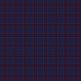 Dark seamless tartan pattern