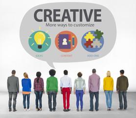 Creative Innovation Vision Inspiration Customize Concept