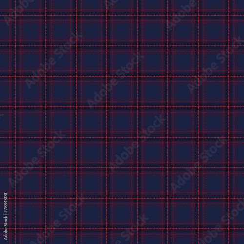 Papiers peints Artificiel Dark seamless tartan pattern