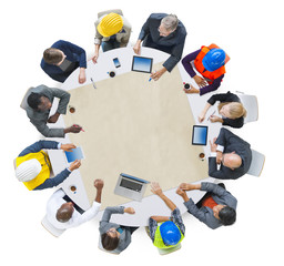 Diversity Group of People Brainstorming Meeting Ideas Concept