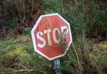 Stop signal deteriorated