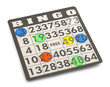 Leinwanddruck Bild - Bingo
