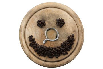 faccina di caffè