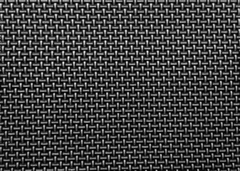 Black woven texture background