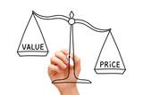 Price Value Scale Concept