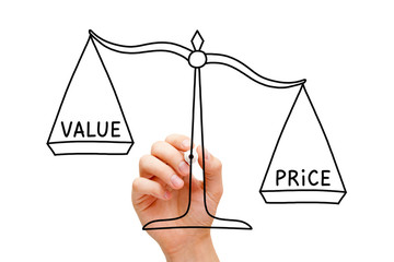 Price Value Scale Concept
