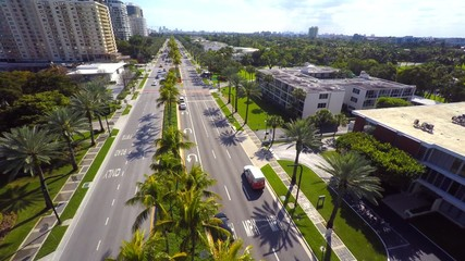 Bal Harbour aerial stock footage