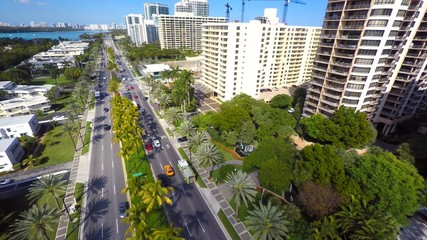 Bal Harbour Miami aerial video