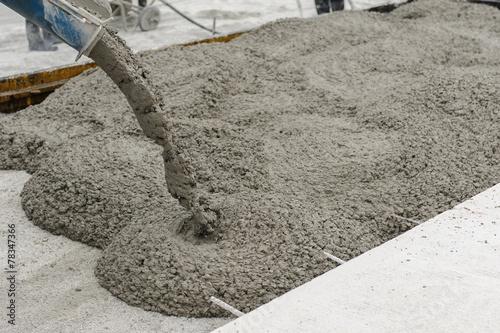 Leinwanddruck Bild concrete