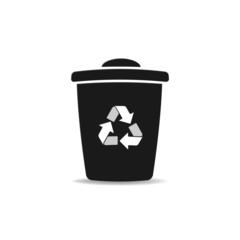 Bin with recycle