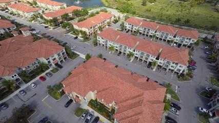 Aerial rental housing community