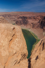 Partial View of Horseshoe Bend in Arizona State, United States