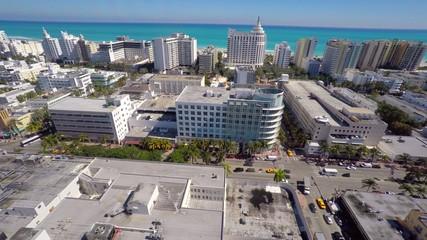 Miami Beach aerial 4k video