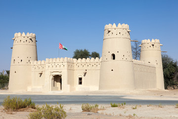 Historic fort in the Liwa area, Abu Dhabi, UAE