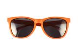 Orange sun glasses isolated - 78350751