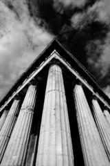 Mono corner columns of Temple of Hephaistos