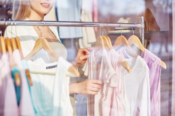 Assortment of blouses
