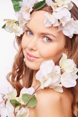 White flower beauty